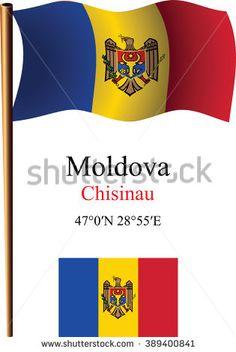 Moldova Wavy Flag Coordinates Against White Stock Illustration 389400841 White Stock Image, Moldova, Royalty Free Stock Photos, Illustration Art, Flag, Pictures, Photos, Photo Illustration, Science