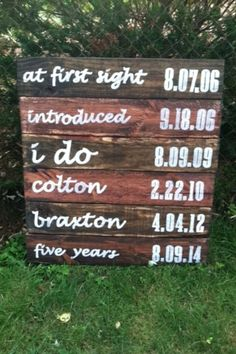 love this sign and it seems doable!