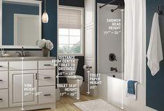 Bathroom Measurement Guide