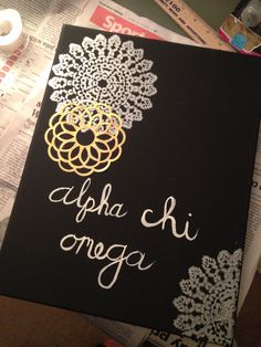 alpha chi omega canvas
