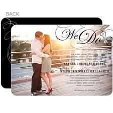 Stunning Flourish Wedding Cards