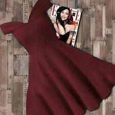 flare dress women - €n moDa koNBinLeR Cute Short Dresses, 15 Dresses, Dress Outfits, Girl Outfits, Trendy Outfits, Cute Outfits, Trendy Fashion, Western Outfits, Flare Dress