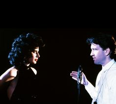 Isabella Rossellini, David Lynch - Blue Velvet set