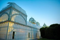 The Royal Greenhouses of Laeken (Dutch: Koninklijke Serres van Laken, French: Serres Royales de Laeken), are a vast complex of monumental heated greenhouses in the park of the Royal Palace of Laeken in the north of Brussels. It is one of the major tourist attractions of the city.