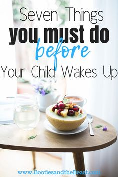Let's face it—being a new mom is down right hard. I'm sure every new parent wishes a manual were apart of labor and delivery. Gone are the days where you could easily get up and just go. Still, the day must go on, but how should you start it? Here are 7 habits you need to do before your child gets up. Good Parenting, Parenting Books, Parenting Articles, Parenting Ideas, 7 Habits, New Parents, New Moms, Mom Hacks, Baby Hacks