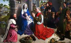 The Adoration of the Kings from the Monforte Altarpiece (c. 1470)