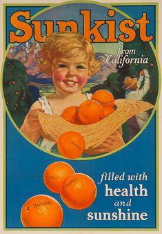 Sunkist Oranges (c.1920)