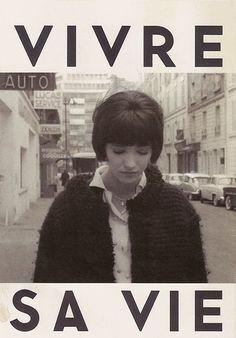 Vivre sa vie, a film by Jean-Luc Godard 1962 staring Anna Karina