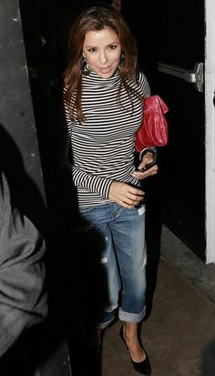 Eva Longoria Photos: Eva Longoria Parker Leaving Beso