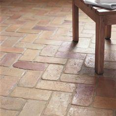 Terracotta Brick - Orange & Terracotta - Shop by colour - Wall & Floor Tiles   Fired Earth