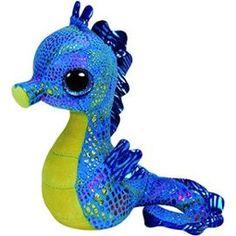 Peluche Hippocampe. #Peluche #Doudou #BeanieBoos