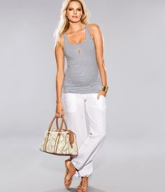 HM maternity. Love this look for summer!