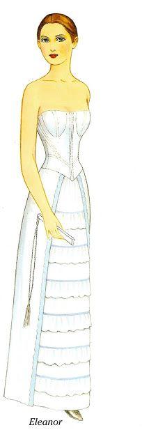 Godey's Fashions 1860-1879 - Eleanor | Gabi's Paper Dolls
