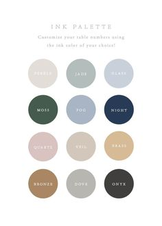 How to Choose The Colour Palette For Your Wardrobe « instyles. Modern Color Palette, Green Colour Palette, Color Palate, Modern Colors, Muted Colors, Accent Colors, Paint Colors For Home, House Colors, Colour Schemes