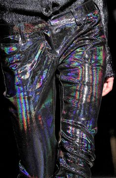 The Fashion of His Love - Balmain Fall 2011 Runway Details Iridescent Clothing, Holographic Fashion, Emperors New Clothes, Mega Fashion, Walk In Wardrobe, Balmain, Cool Outfits, My Style, How To Wear