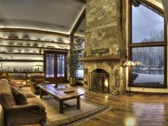 Bruce Willis  Set on 20 secluded acres in Hailey, Idaho, Die Hard star Bruce Willis' impressive estate comes with a custom pool, a gated entry and a separate guesthouse and gym.
