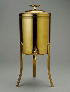 Miniature #Parzinger Beverage Tureen, Estimate: $100/150  #midcenturymodern #20thcenturydesign #michaans http://www.michaans.com/highlights/2013/highlights_07062013.php