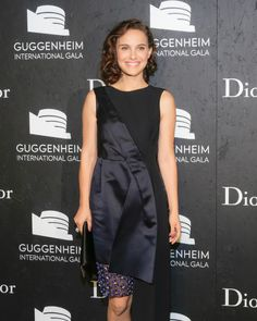 Natalie Portman - Twitter / Dior: Celebrities at the Guggenheim International Gala in New York.