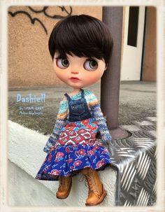 DASHiELL Ooak Custom Blythe Doll by ByAlsw on Etsy
