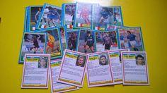 FIGURINE PANINI E MERLIN: MINI CARD CALCIO 1989 VALLARDI-GIOCHI PREZIOSI #cards #calcio #anni80