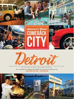 It's just another day in the rehabilitation efforts of Detroit. The city has…