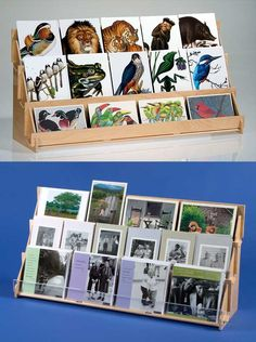 #4965  Plywood 3 Tier  Greeting Card Rack - leads to site that sells products