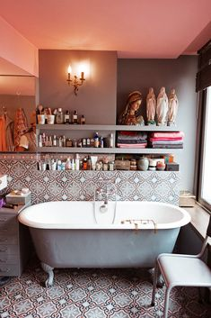 Sylvie Chateingers Very Cool Bathroom