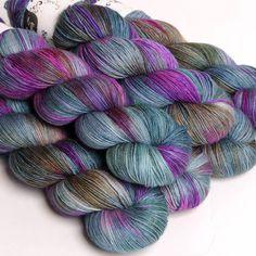 Hedgehog Fibres Sock Yarn Thread Crochet, Knit Crochet, Hedgehog Fibres, Spinning Yarn, Yarn Bombing, Sock Yarn, Hand Dyed Yarn, Knit Patterns, Knitting Projects