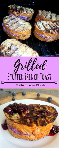 French toast sticks from whole foods breakfast brunch recipes grilled stuffed french toast with berry compote solutioingenieria Images