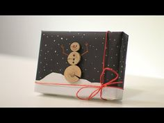 How to Wrap a Gift for Guys- 12th DIY of Christmas - YouTube