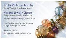 Pretty Vintique Jewelry ~ PrettyVintiqueJewels.etsy.com Vintage Jewelry Galore