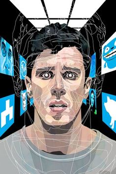 Toby Kebbell in an episode of Charlie Brooker's inventive sci-fi series. #BLACKMIRROR #NEWYORKER