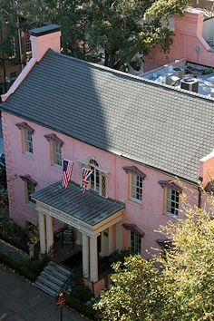 Pink House Savannah- already made the reservations!