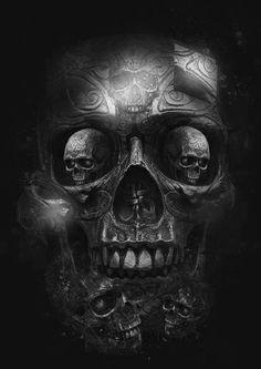 Skull by xeitc ;