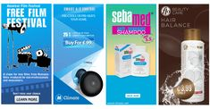 300 x 600 Individual Web Banners – AD & Banner design