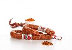 Salsiccia Piccante Curva #salumi #salami #salame #salameabruzzese #Abruzzo #delicious #food #meat #meatspecialities #specialities #gourmey #italyfood #salumificiosorrentino