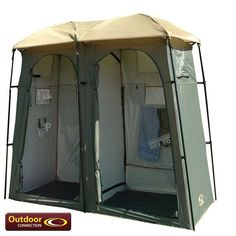 Outdoor Camping Shower Tent Go look at these amazing conversion camp tents. They are very cool www.tentsngear.com