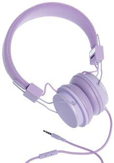 Thoroughly Modern Musician Headphones in Lavender