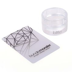 The Monocle Stamper:  XL Round Clear Stamping Tool - Glass Stamper Collection