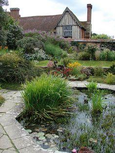 wall garden Great Dixter, Sussex