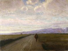 Artgate Fondazione Cariplo - Costa Nino, Strada in pianura ( 1890 )