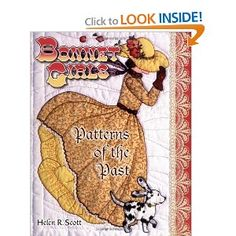 Bonnet Girls: Patterns of the Past [Illustrated] [Paperback]