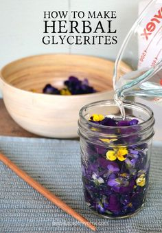 How To Make Herbal Glycerites - Herbal Academy of New England