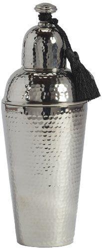 Barclay Butera Amanjena Cocktail Shaker with Tassel, Silver Barclay http://www.amazon.ca/dp/B0096391LQ/ref=cm_sw_r_pi_dp_fOFBwb1P0MVVF