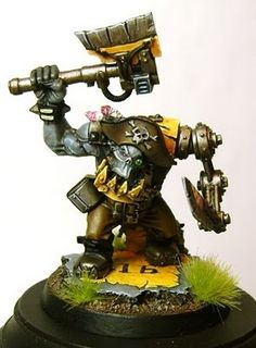 Daiths Forge: Ork Freebooter Warboss WIP