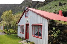 House somewhere in Iceland.