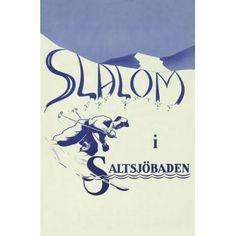 Skidåkning i Saltsjöbaden / Vykort29