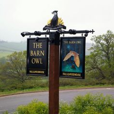 The Barn Owl. Creative Signs: Pub and Hotel Sign Designers and Manufacturers in Oxfordshire