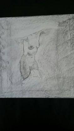 Potlood tekening