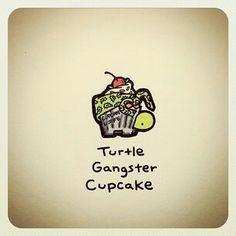 :) Cute Turtle Drawings, Animal Drawings, Cute Drawings, Turtle Life, Tiny Turtle, Cute Turtles, Baby Turtles, Sheldon The Tiny Dinosaur, Kawaii Turtle